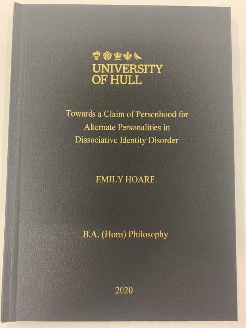 Book of essays citation