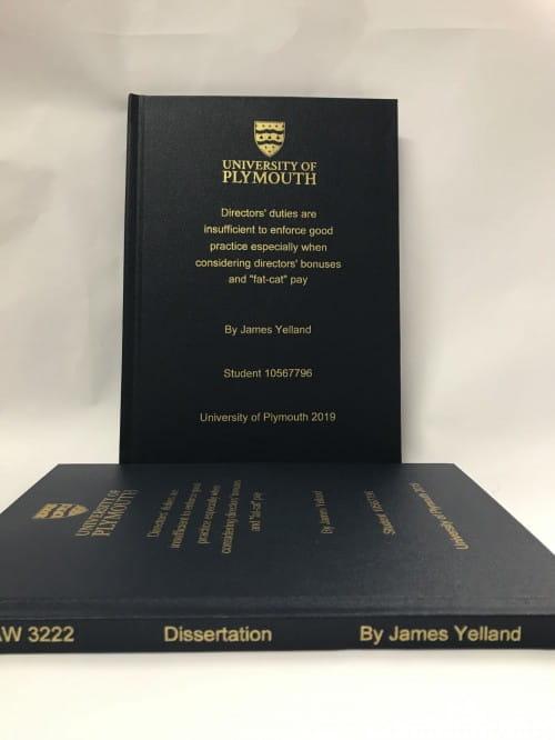 ysj dissertation binding