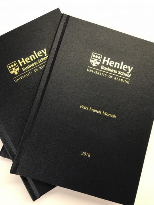 dissertation binding sheffield hallam