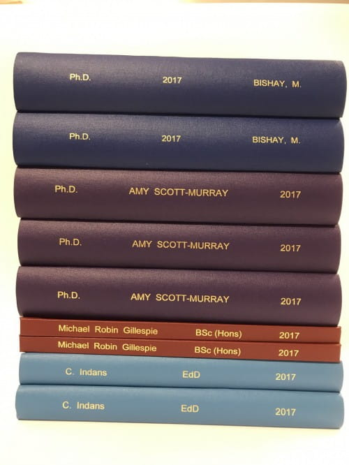 thesis binders cambridge uk Masters bookbinding has provided quality folders and presentation cases are produced for a variety of clients across uk and order your thesis online.