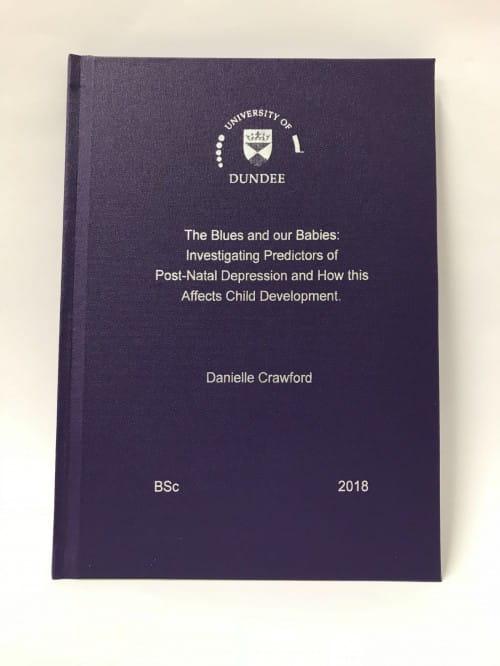 University of birmingham dissertation binding