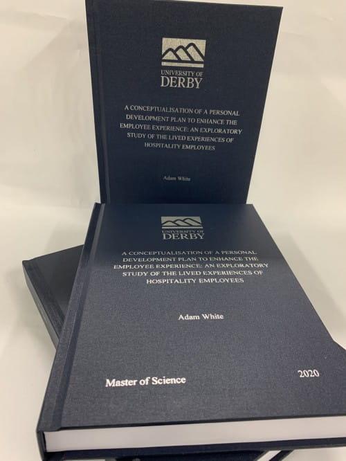 New Helix Binders Dissertation Binding Derby
